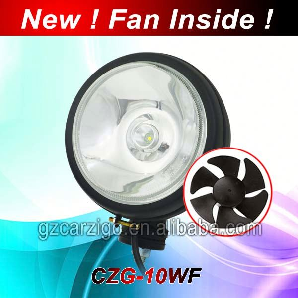 5 inch led work light black angel eye projector headlights