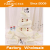 China professional customized beautiful wedding dummy cake / fake birthday cake for window display