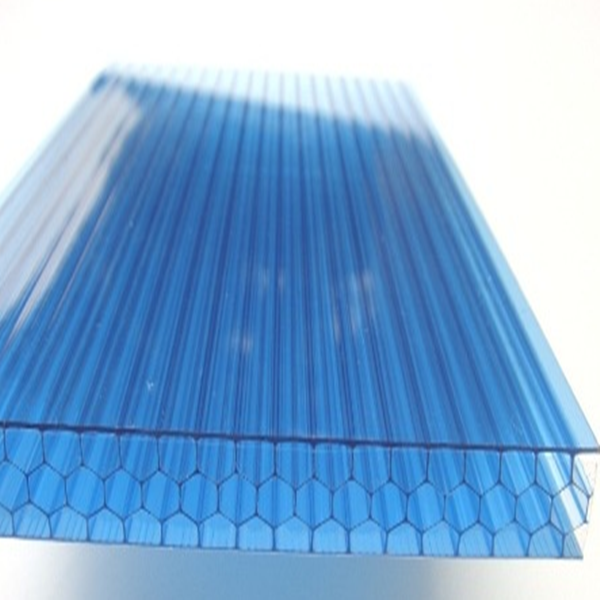 UV reflective soundproof polycarbonate honeycomb sheet