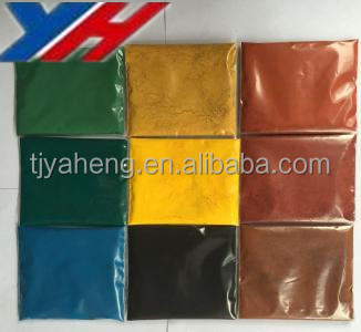 Purity 95% ceramic color powder iron oxide red black yellow pigments for ink/color rubber/bricks/blocks/ color cement