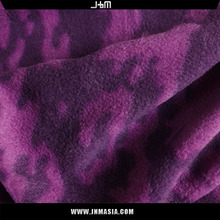 100% Polyester plain style textured coral fleece fabric