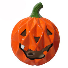 Artificial ceramic fake pumpkin for decor