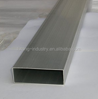 Rectangular Tube Aluminium rectangular aluminum hollow pipe
