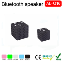 2016 New Gadgets Cheap Stereo bluetooth cube small speaker bluetooth for phone