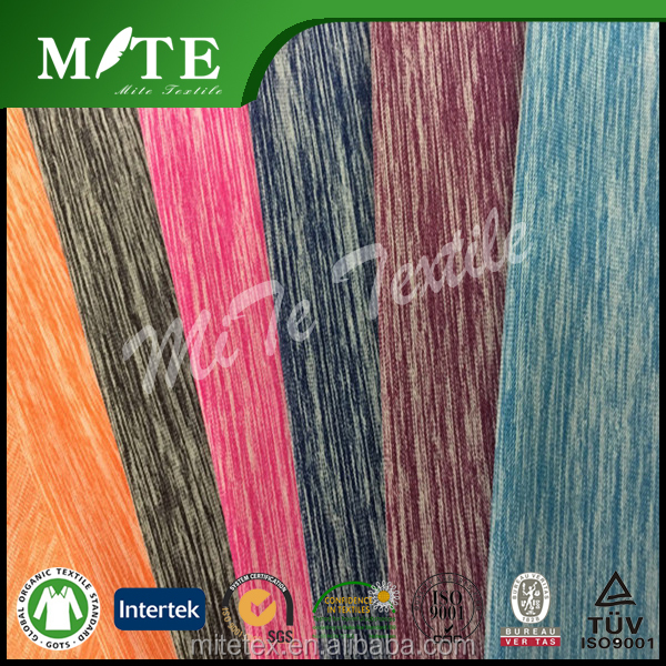 100% polyester knit single jersey fabric