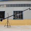 Factory supply jimmy jib video camera octagonal crane 10m(33ft) with pan tilt motorized head