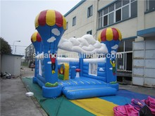small size cheap inflatable bouncy castle for sale