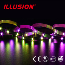 Addressable IP20 UL CE ROHS DC5V IC Control 30 pixel RGB Digital SMD5050 Flexible LED Strip