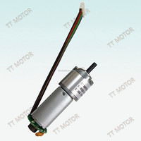 brushed 22mm dc 12v motor with specifications