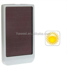 1500mAh Solar Energy Charger for iPhone/ Mobile Phone/ MP3/ MP4/ Digital Camera, Solar Panel: 0.4W (Silver)