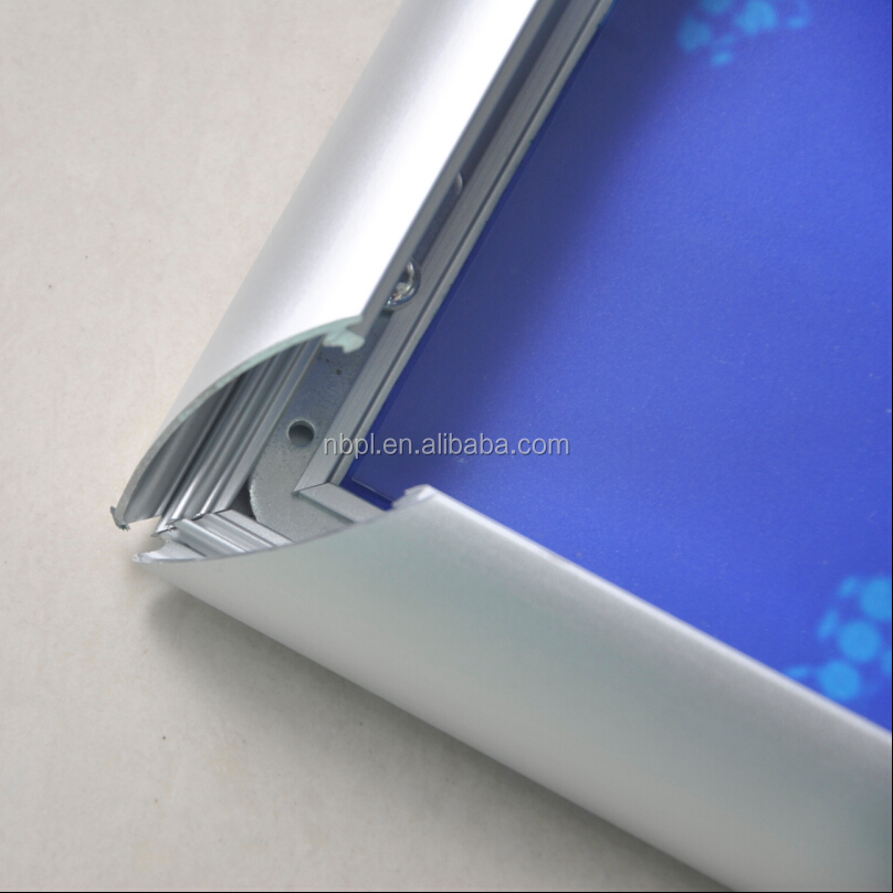 A1.A2.A3.A4 Aluminium Silver Anodized <strong>snap</strong> <strong>frame</strong> with mitred corner