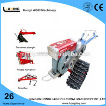 12 hp dongfeng style walking tractor 2WD By wheel /tracks for farm usage