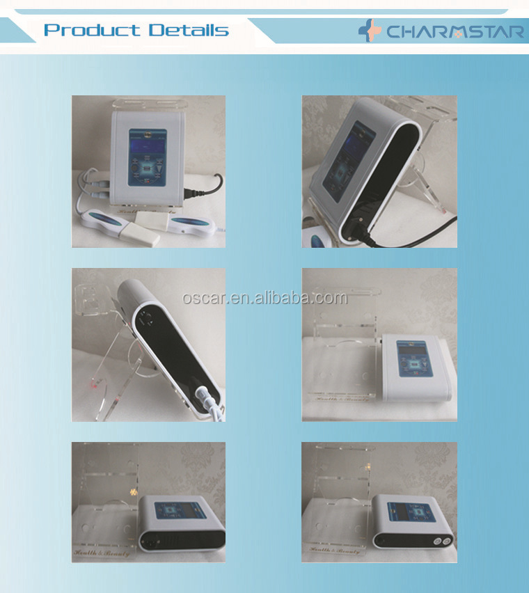 Ultrasonic peeling Skin scrubber machine / Steamer Skin Care Beauty Equipment for facial cleaning