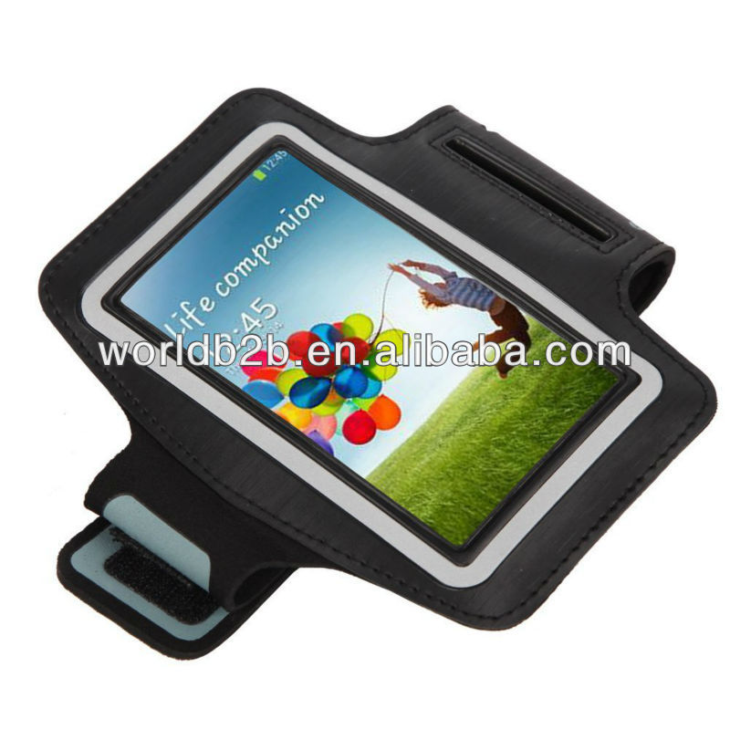 sport armband for samsung galaxy s4/i9500,high quality