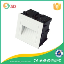1W 3W AC85-265V Waterproof Grace Design Stair Used Recessed Outdoor LED Wall Light