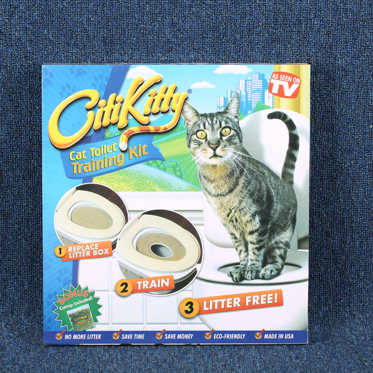 New Products Cat Toilet Training Kit Modern Cheap Pet Litter Tray