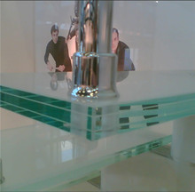High Quality bulletproof glass for sale used, tempered laminated glass stairs railing cost for sale