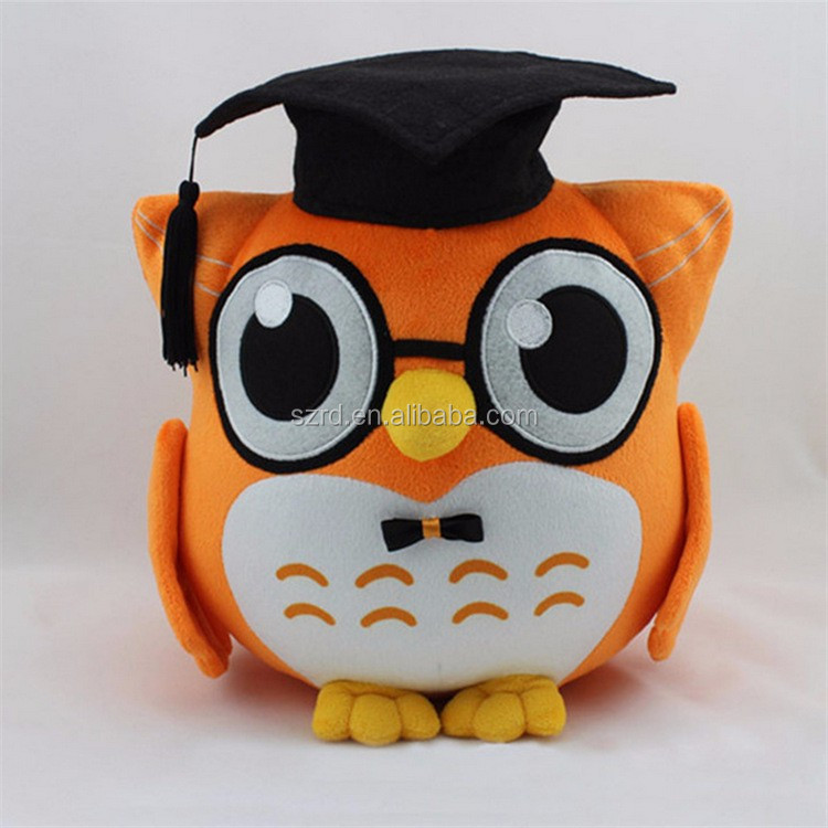 Plush Stuffed Owl Toys/Cute Owl Plush Toy/soft toy for baby