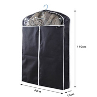 Heavy duty non woven recycled dry cleaning garment cover bag