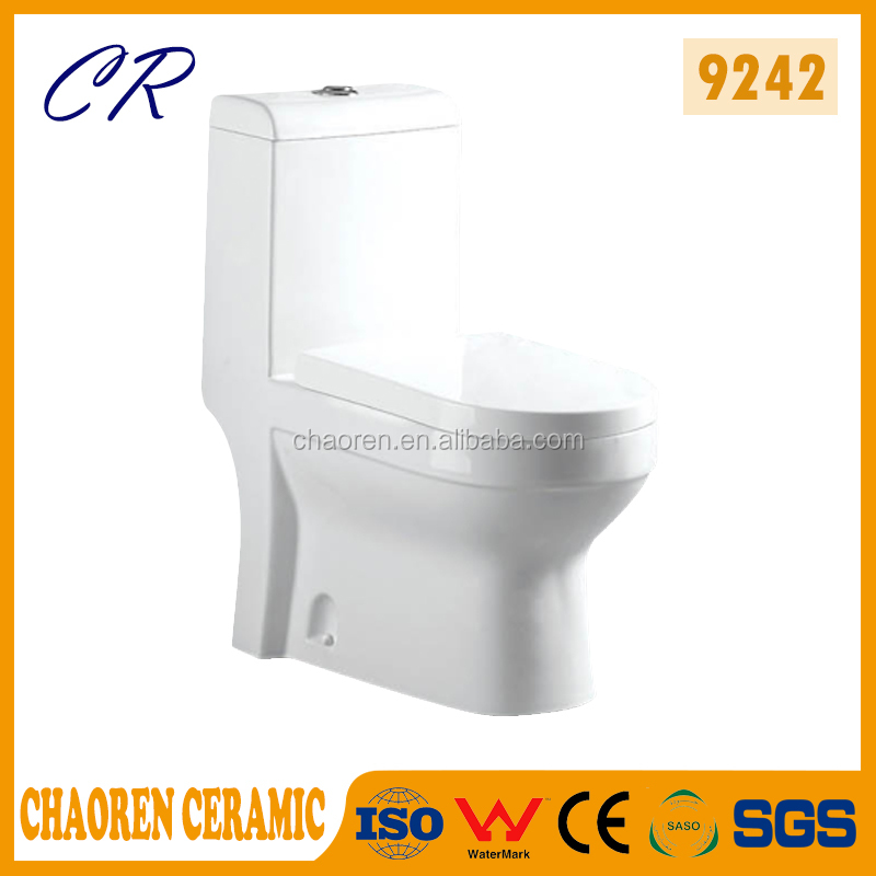Best quality One-piece S-Trap sanitary ware toilet with high wc