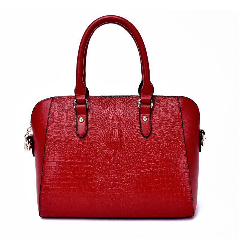 2015 new products Crocodile women bag wholesale ladies handbags online shopping designer shoulder bag