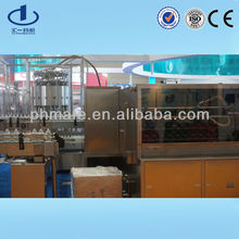 medical glass vials dextrose infusion washing filling and sealing machines