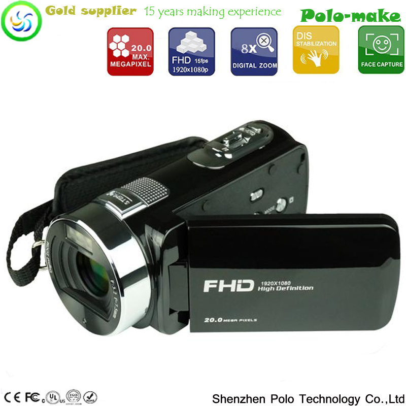 20MP high resolution digital camcorder,FHD 1080P digital video recorder