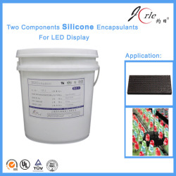 liquid silicone filler mastic for electric