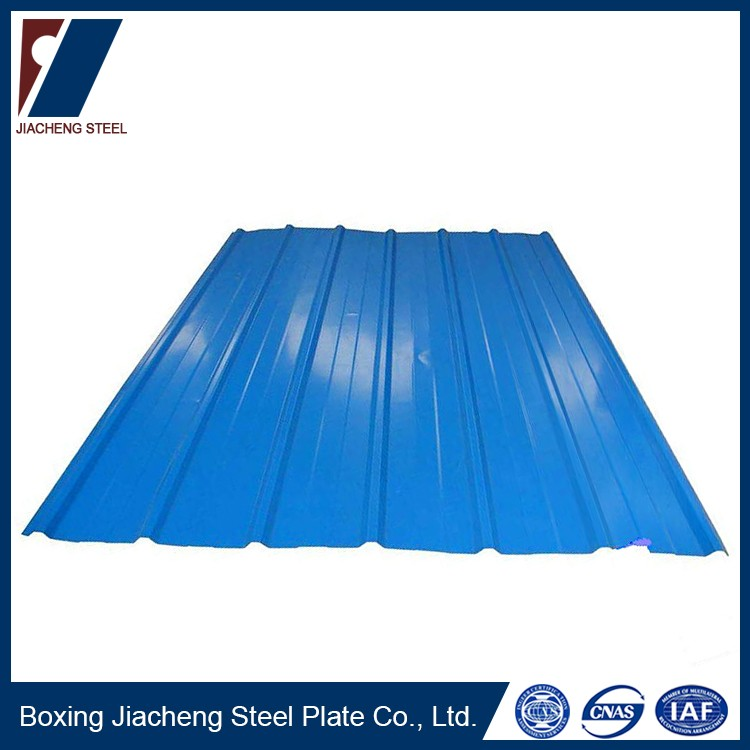 Cold rolled steel plate prepainted sheet metal roofing for sale