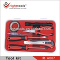 Professional quality tool set