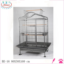 top open large metal wire bird cage parrot cage bird house