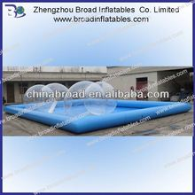Best quality customized size 0.9mm pvc balloon swimming pool