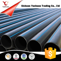 Industrial PE Plastic Pipe HDPE Water
