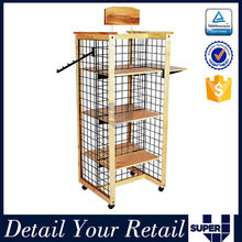 wire counter display rack cardboard book display stands wire books