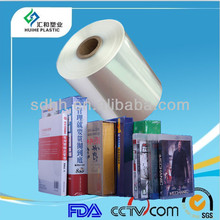 15 micron Polyolefin Hot Shrink Wrap Film