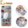 Manufacturer of 2017 Squishy silicone custom made design free sample mobile cell anime customised squishy case for iphone
