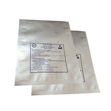 Cheapest price silver foil three-layer laminated aluminum plastic bags