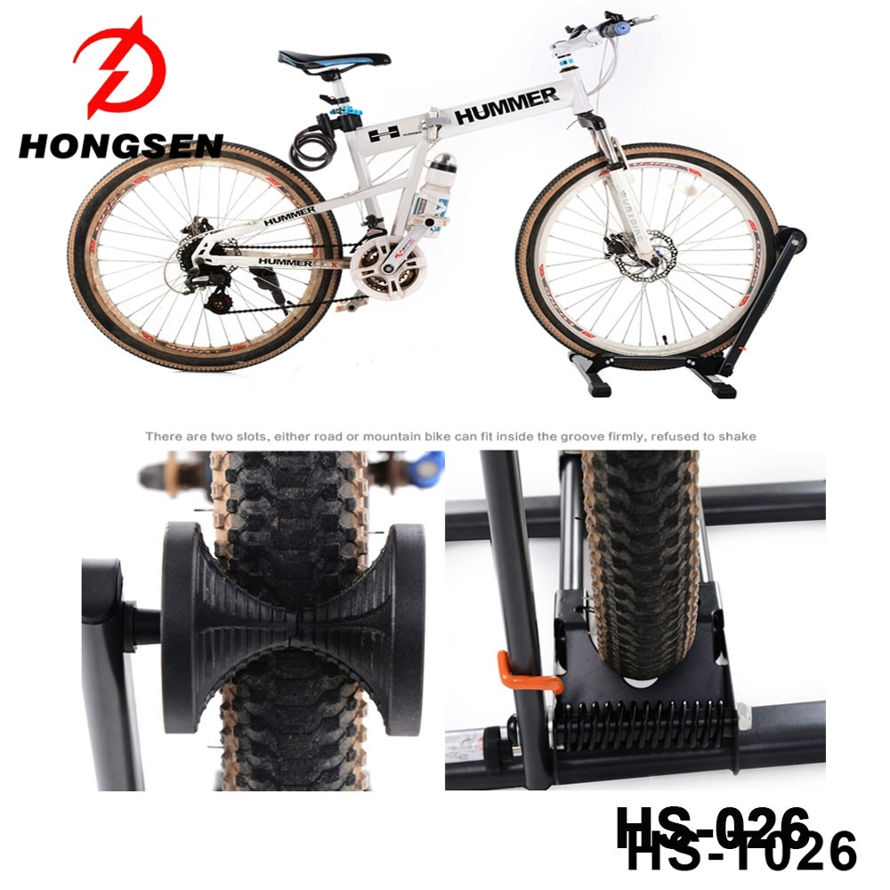 Universal Bicycle Foldable Parking Stand Portable cycle Mountain Bike Rack