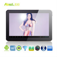Promotion!!! Dual Core Boxchip Allwinner A20 Cortex A8 android 4.2 6000mah 1GB/8GB dual camera hdmi 10 inch tablet pc s30