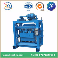 QT4-40 Manual Concrete Block Making Machine,For Family Or Small Factory To Do Business!