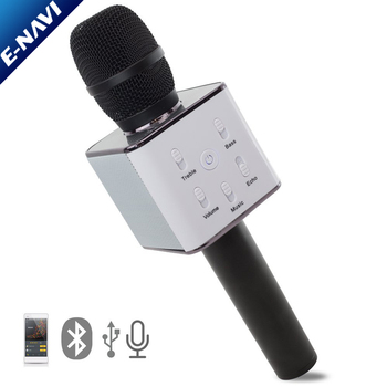 Wireless Karaoke Microphone Portable Entertainment System Handheld Karaoking Machine Android & iOS Devices Compatible