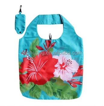 sublimation printing Polyester tote bag