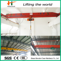 Construction building materials Single Girder electric Bridge travelling Cranes 5 Ton
