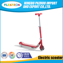 2017 New Design Hot Salekick scooter for europe adult 125mm pu wheels push scooter with electric
