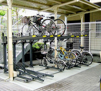 customized multi-tier bike parking rack