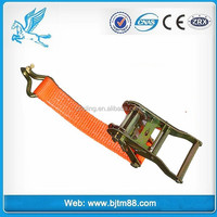5ton Polyester ratchet tie down and lashing strap