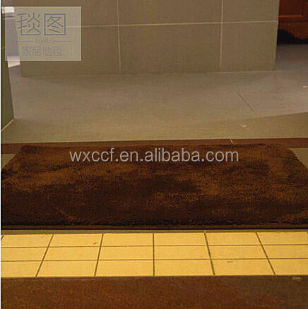 fancy rubber backed cheap wholesale area rugs/bathroom carpet