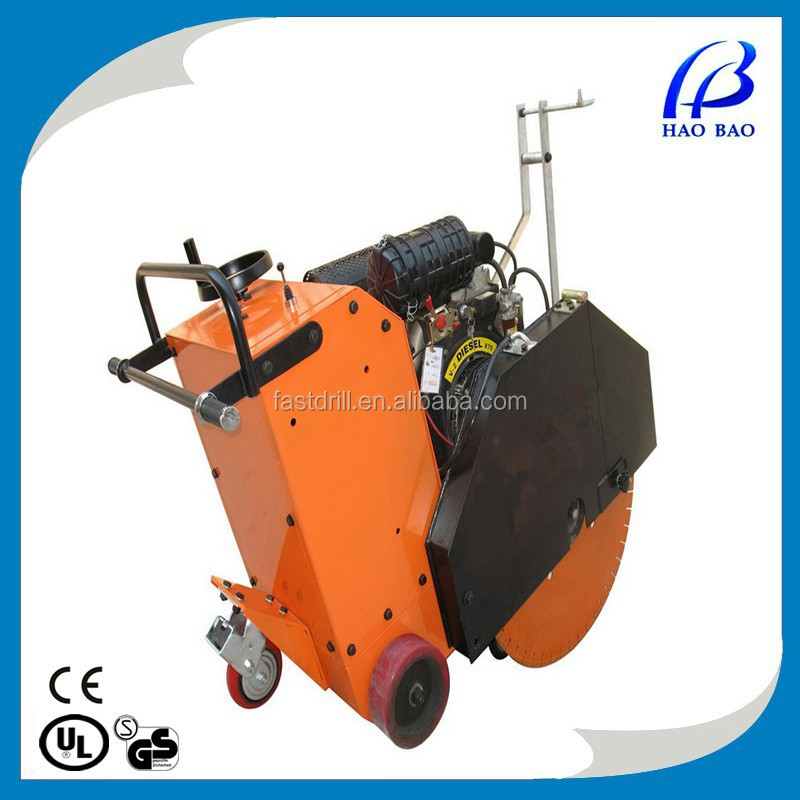 2014 HXR700D 27inch large blade road cutting machine concrete/asphalt Floor saw