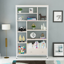 Light-duty 5 tier home used wooden storage bookcase <strong>shelves</strong> for decoration