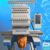 HOLiAUMA Tajima type 15 colors high speed home computerized embroidery machine prices for sale